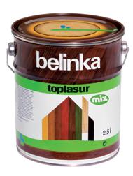 Belinka Toplasur MIX (Белинка Топлазур Микс - средство для защиты древесины)