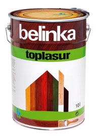 Belinka Toplasur (Белинка Топлазур - защитное средство для древесины)